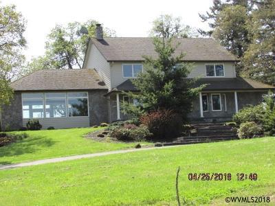 Salem Single Family Home For Sale: 3880 Oak Knoll Rd