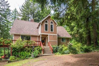 Lebanon Single Family Home Active Under Contract: 30520 Sodaville Mountain Home Rd
