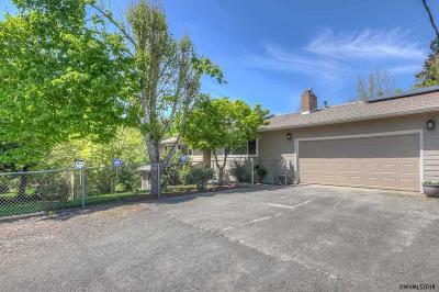 Salem Single Family Home For Sale: 4975 Auburn Rd