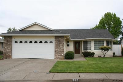 Keizer Single Family Home For Sale: 368 Ridgeview Dr