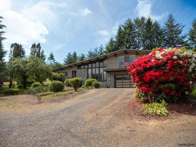 Sweet Home Single Family Home For Sale: 27990 Riggs Hill Rd