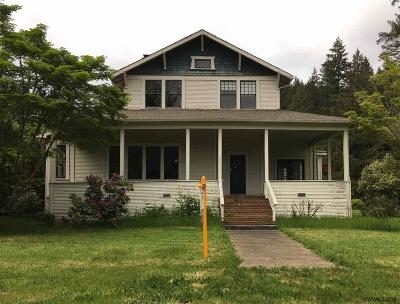 Mill City Single Family Home For Sale: 363 NE Birch St