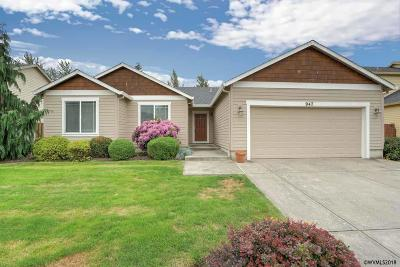 Aumsville Single Family Home Active Under Contract: 947 Highberger Lp