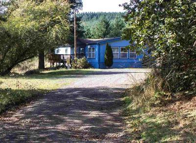 Scio Single Family Home Active Under Contract: 39392 Richardson Gap Rd