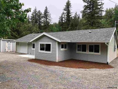 Gates Single Family Home For Sale: 33553 Railroad Av