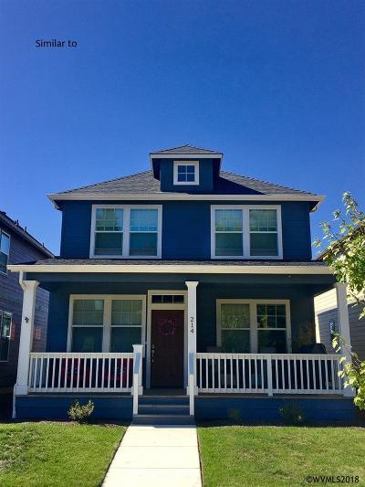 Albany Single Family Home For Sale: Water (Lot #24) Av