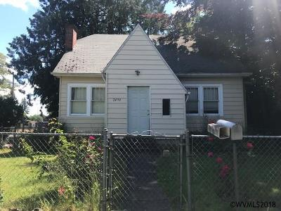 Salem Single Family Home Active Under Contract: 2490 Hazel Av