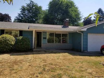Stayton Single Family Home Active Under Contract: 260 N Gardner Av