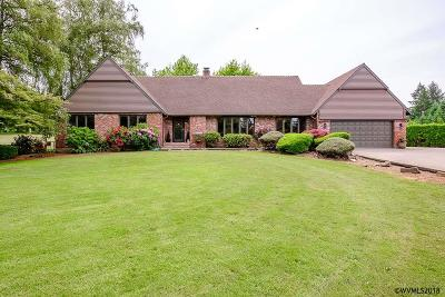 Sweet Home Single Family Home For Sale: 27752 Riggs Hill Rd