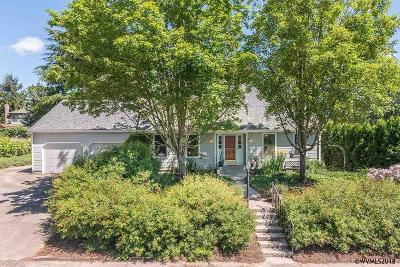 Monmouth Single Family Home Active Under Contract: 600 Falls City Hwy