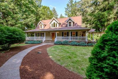 Gates Single Family Home For Sale: 40113 Gates School Rd