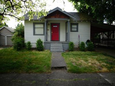 Salem Single Family Home For Sale: 2023 Hazel Av