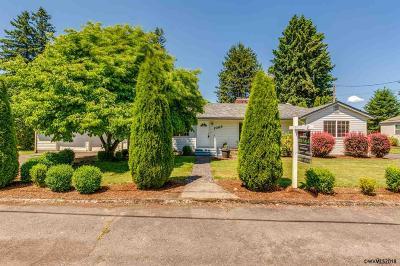 Stayton Single Family Home For Sale: 1065 W Ida St