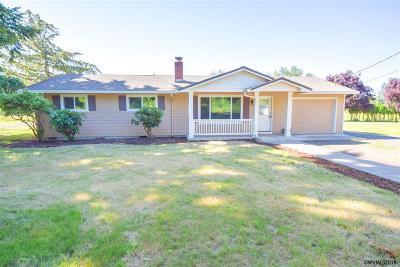 Stayton Single Family Home For Sale: 41155 Stayton Scio Dr