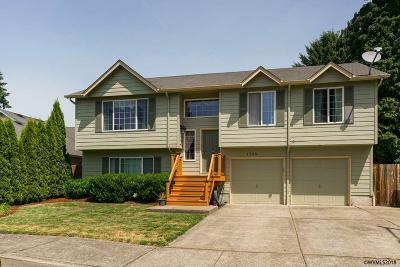 Keizer Single Family Home Active Under Contract: 1389 Rushmore Av