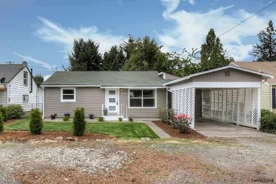 Keizer Single Family Home Active Under Contract: 4715 Harcourt Av