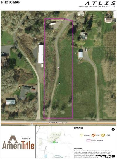 Albany Residential Lots & Land For Sale: Knox Butte Rd