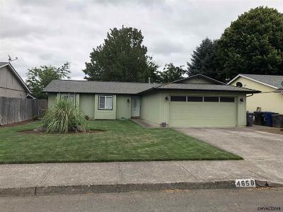 Salem Single Family Home For Sale: 4658 Fuhrer St