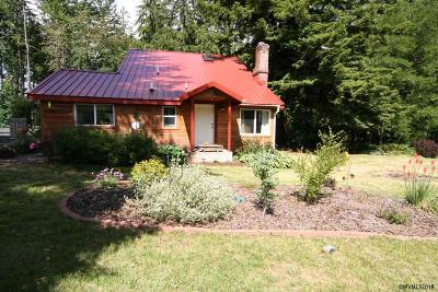 Lyons Single Family Home For Sale: 40290 S McCully Mountain Rd