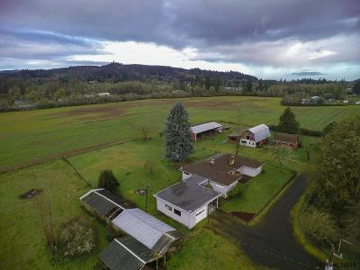 Lebanon Single Family Home Active Under Contract: 31022 Old Santiam Hwy