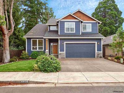 Keizer Single Family Home For Sale: 4818 Tate Av