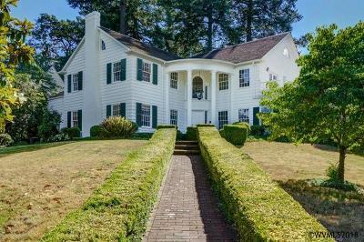 Salem Single Family Home For Sale: 1815 Fairmount Av