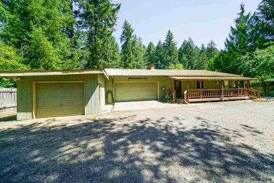 Lyons Single Family Home Active Under Contract: 23547 Santiam Wy