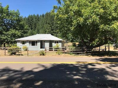 Scio Single Family Home For Sale: 44255 Camp Morrsion Dr