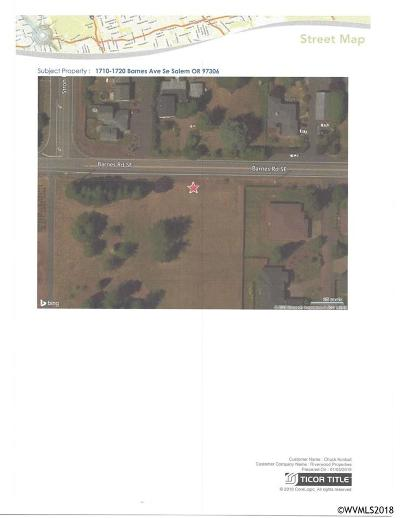 Salem Residential Lots & Land For Sale: 1710 Barnes Av