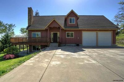 Scio Single Family Home For Sale: 38891 Hungry Hill Dr