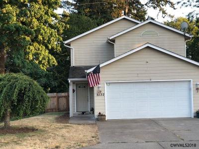 Stayton Single Family Home Active Under Contract: 1232 W Ida St