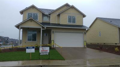 Aumsville Single Family Home For Sale: 7401 Bishop (Lot #41) St