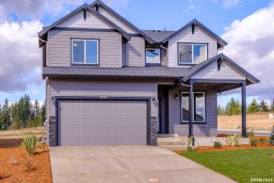 Aumsville Single Family Home For Sale: 9995 Fox (Lot #60) St