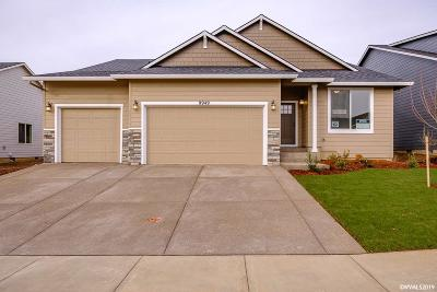 Aumsville Single Family Home For Sale: 9949 Fox (Lot #62) St