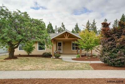 Sublimity Single Family Home For Sale: 212 SW 9th St