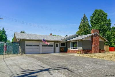 Keizer Single Family Home Active Under Contract: 4399 Cedar Av