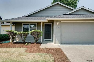 Stayton Single Family Home For Sale: 1275 N 4th Av