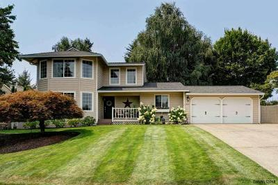 Salem Single Family Home Active Under Contract: 5925 Smoketree Dr