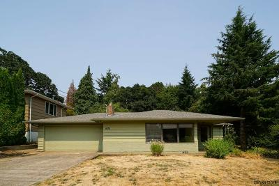 Salem Single Family Home For Sale: 1675 Glen Creek Rd
