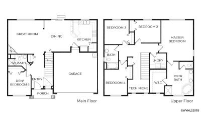 Salem Single Family Home For Sale: 3382 Tupelo St