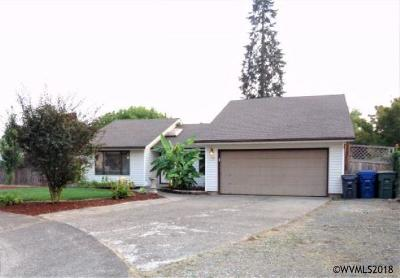 Keizer Single Family Home For Sale: 1708 Kelly St