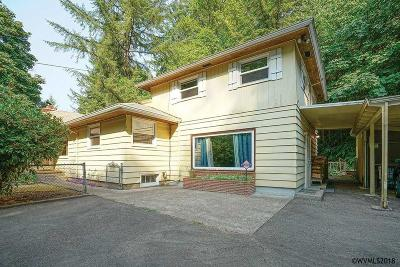 Salem Single Family Home For Sale: 3950 Croisan Creek Rd