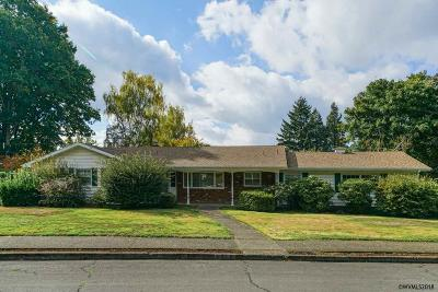 Salem Single Family Home Active Under Contract: 3517 Camellia Dr