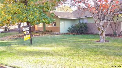 Monmouth Single Family Home Active Under Contract: 601 Olive Wy