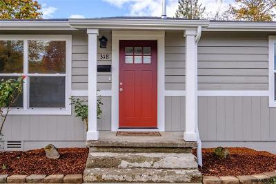 Sweet Home Single Family Home Active Under Contract: 318 9th Av