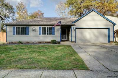 Salem Single Family Home Active Under Contract: 2825 Johan Ct