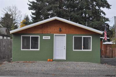 Scio Single Family Home For Sale: 38885 S Main St