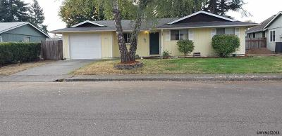 Aumsville Single Family Home For Sale: 580 Maple Ct