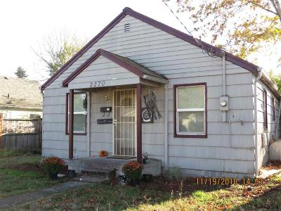 Salem Single Family Home Active Under Contract: 2270 Claude St