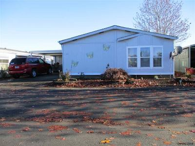 Salem Manufactured Home Active Under Contract: 4730 Auburn #138 Rd #138